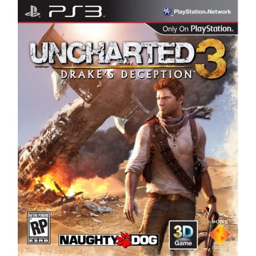 Uncharted 3 Drake's Deception (Lietota)